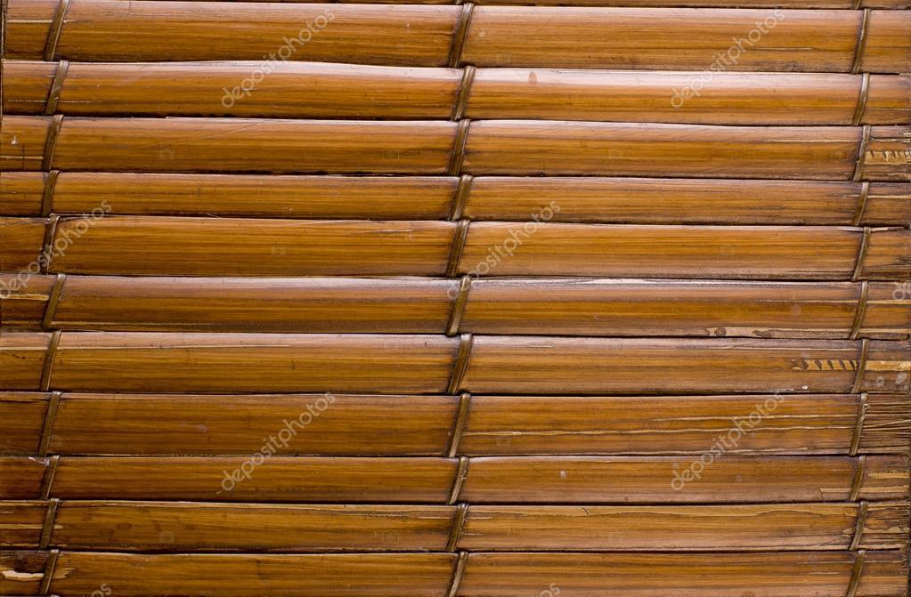 Imagenes Palos De Bambu Fondo Marron De Madera Con Hilo Uniendo - Palos-de-bambu