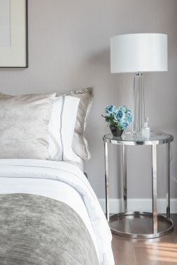 classic bedroom style with set of pillows