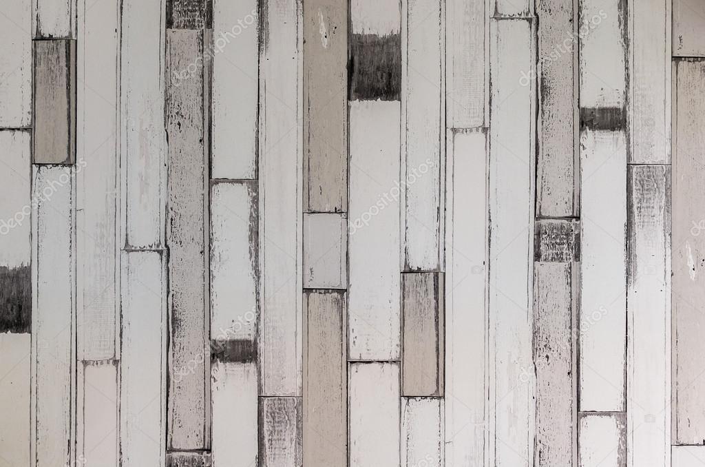 Legno Bianco Vintage : Parete in legno bianco vintage u foto stock khongkitwiriyachan