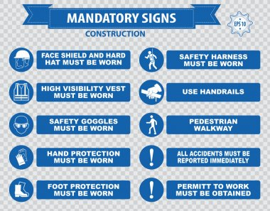warning signs for construction