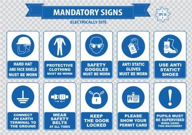 Electrically Mandatory Signs