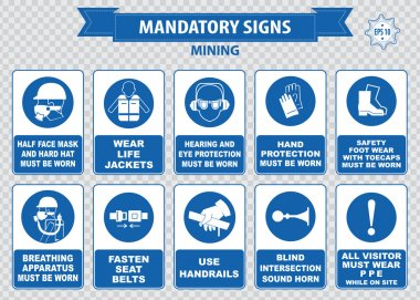 Mining mandatory signs