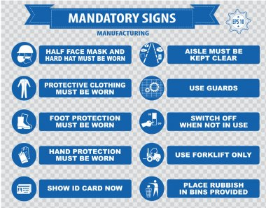 Manufacturing Mandatory Signs