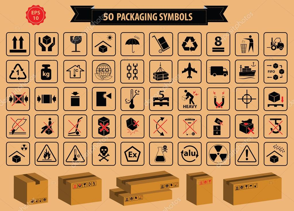 Set Of Boxes And Cardboard Signs Stock Photo Coolvectormaker
