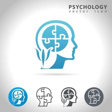 psychology icon set
