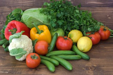 Vegetables and fruits. healthy food. vegetarian meals.