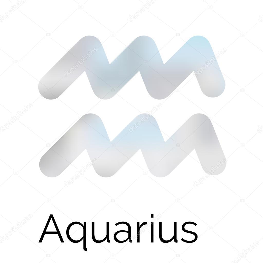 Zodiac symbol aquarius vector sign stock vector astrological zodiac symbol aquarius vector sign vector by crispersonally biocorpaavc Image collections