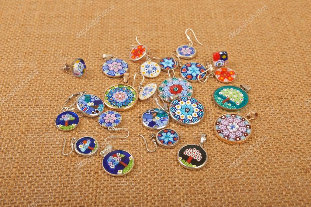 tout neuf super promotions premier taux Murano Verre bijoux pendentifs et boucles d'oreilles Venise ...