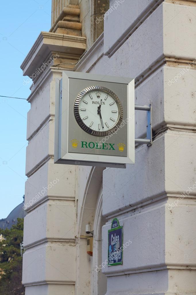 1a6f0c1f1e4dd9 Bucarest, Romania - 19 Desember, 2015: Juwelier Hilscher Rolex watch store  a Bucarest. Rolex ГЁ stata fondata nel 1909. Produce circa 2.000 orologi di  lusso ...