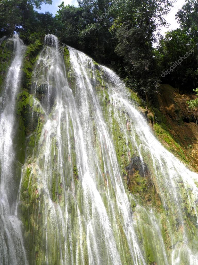 El limon waterfall dominican republic