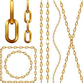 Set of golden chains