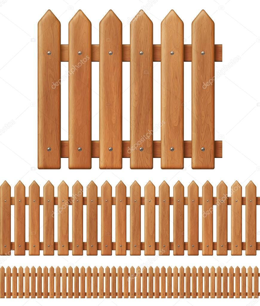 Natural wood Texture, beige fences