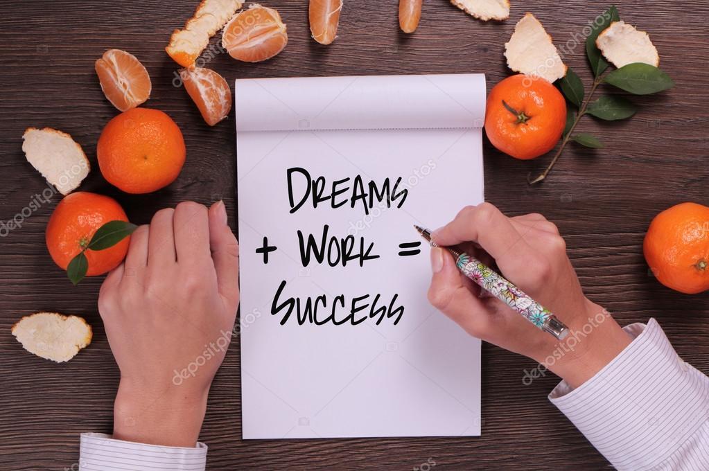 Motivation Worte Träume Arbeit Erfolg Inspirierendes