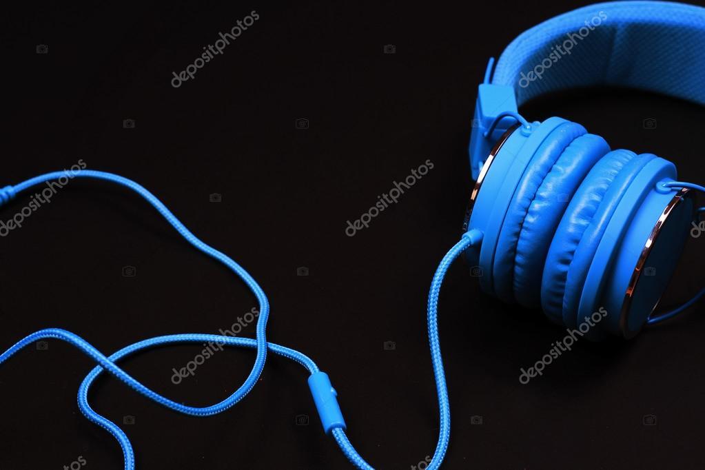 I Love Music Wallpaper Modern Earphones On Black Background Love Music Wallpaper Concept Stock Photo C Glisic Albina 113880632