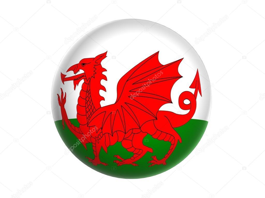 3D bandera de Gales — Fotos de Stock © glisic_albina #63422897