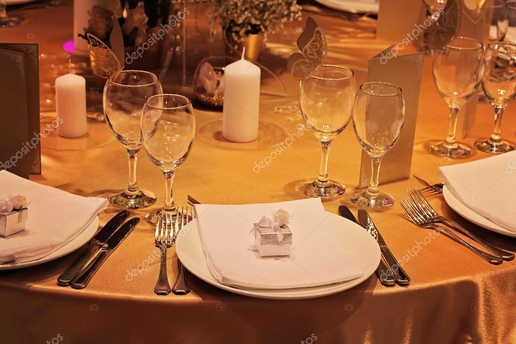 Wedding Table Display With Favor Box Golden Autumn Decoration Crystal Fall