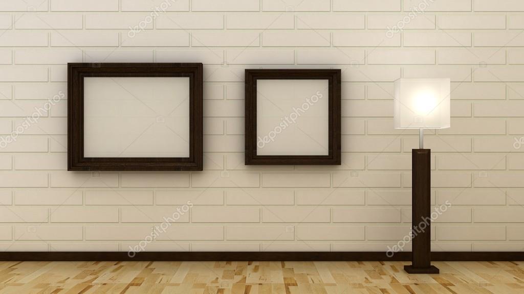 Marcos de vacío clásico fondo interior de la pared decorativos brik ...