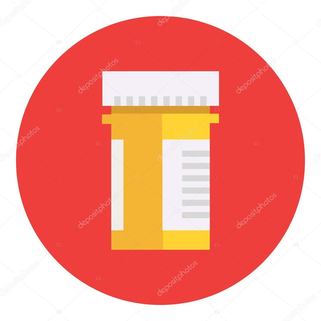 pill bottle icon stock vector denvitruk 90647782 rh depositphotos com pill bottle label generator pill bottle label template