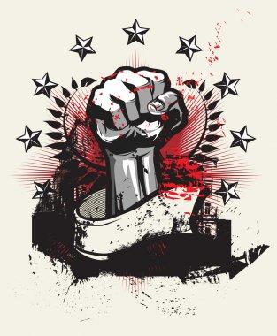 Revolution and protest Vector illustration clip art vector