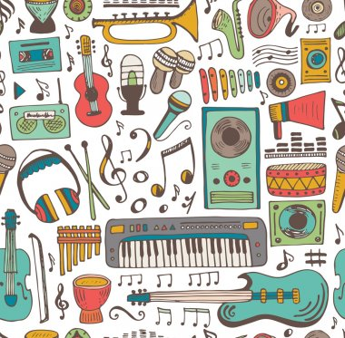 Music doodle collection