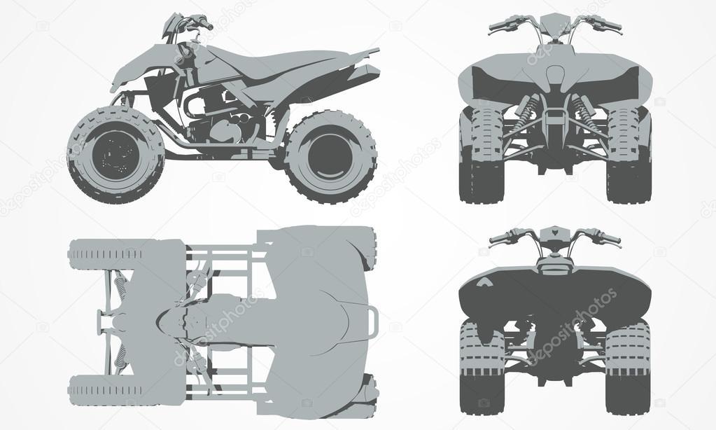 картинки с чертежами квадроциклов балконе