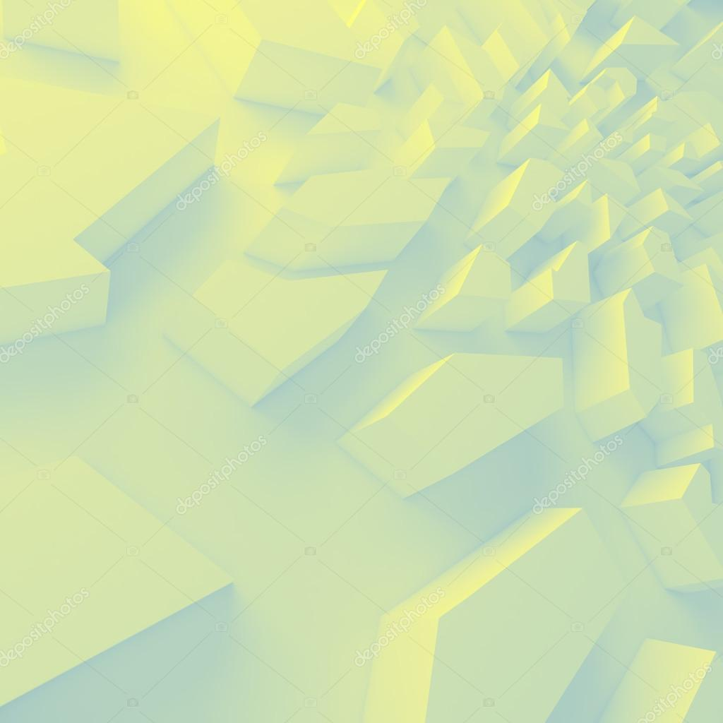 Geometric color abstract polygons, as crack wall — Stock Photo ...