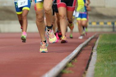 Athletics people running