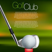 Fotografie Golf background