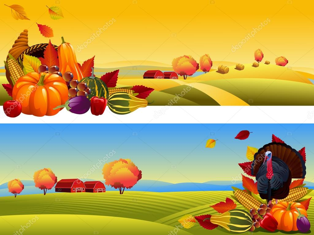 Beautiful country landscapes stock vector vedvidarts 65802999 beautiful autumn country landscapes set with ranch and harvest thanksgiving day illustration vector by vedvidarts sciox Images