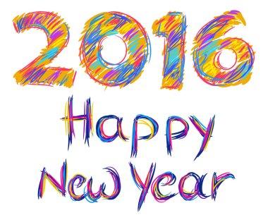 2016, Happy New Year