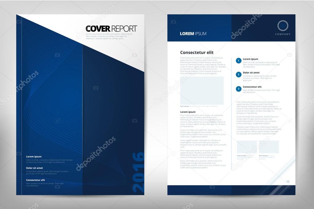 modern cover annual report brochure business brochure catalog