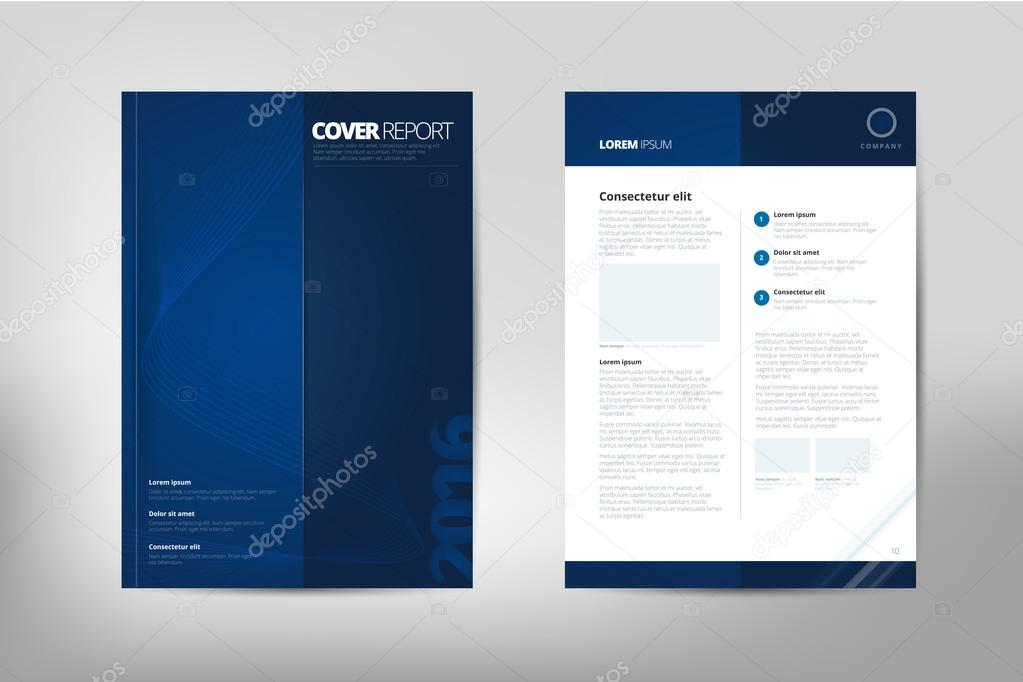 modern cover annual report brochure business brochure catalog