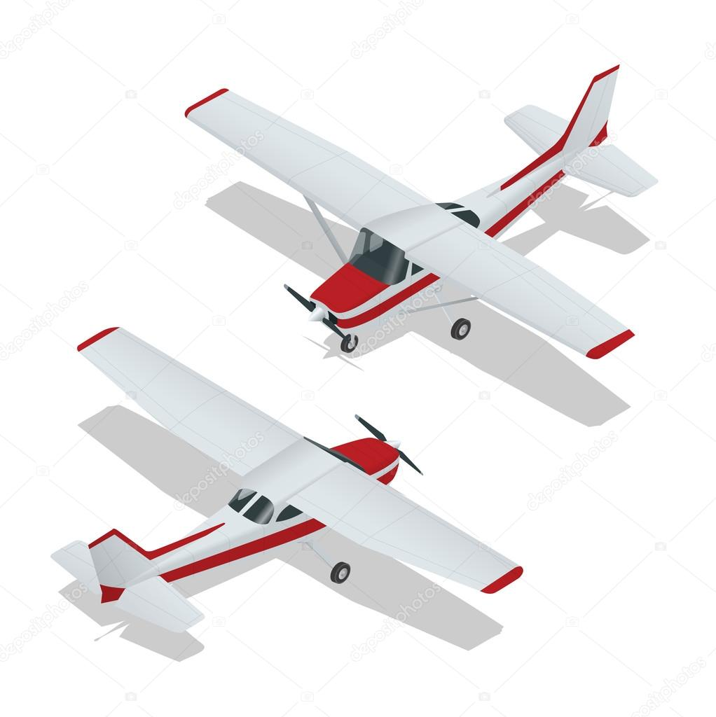 vector illustration of a airplanes airplane flight plane icon
