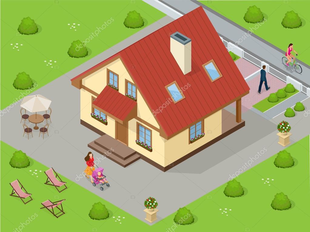 Planos de casas grandes en 3d plano de casa de m with for Construye tu casa en 3d