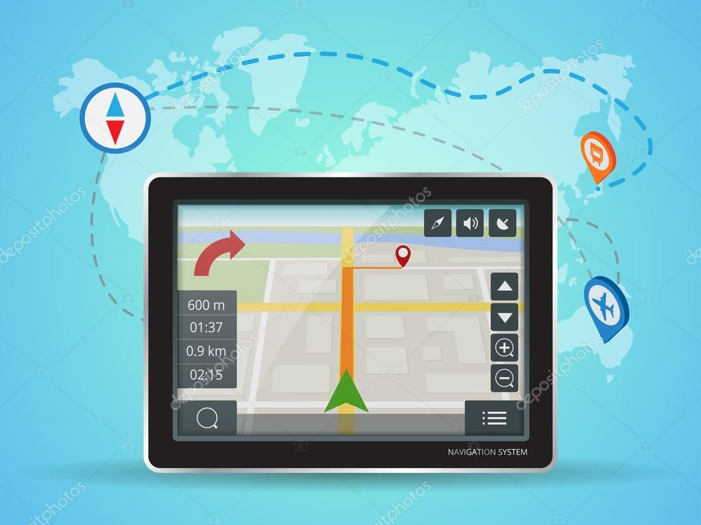 Geolocation gps navigation touch screen tablet world map mobile geolocation gps navigation touch screen tablet world map mobile gps navigation tablet pc gumiabroncs Gallery