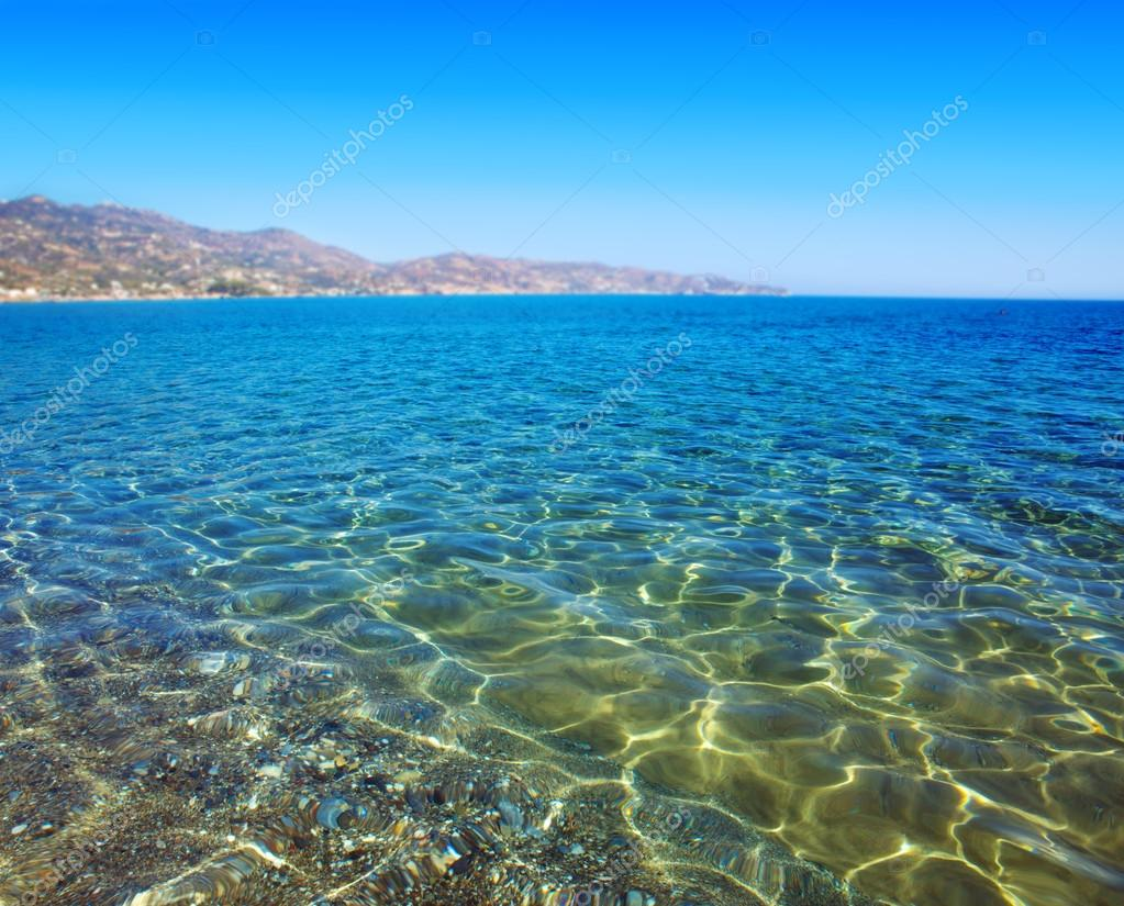Shining blue water ripple background
