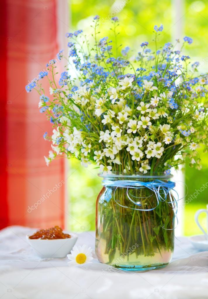 Bouquet de fleurs sauvages de printemps photographie swkunst 76002551 - Bouquet de fleurs sauvages ...