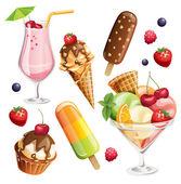 Sommer-essen-Symbole.