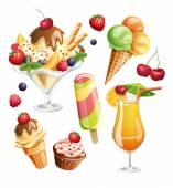 Fotografie Sommer-essen-Symbole