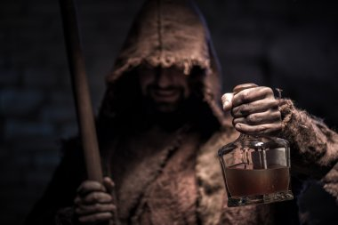 Drink this and you will be dead