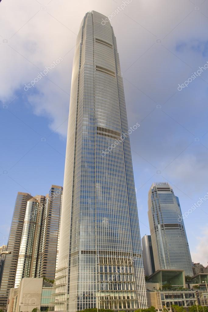The International Finance Centre IFC Complex Hong Kong Admirlty Central Financial Centre Skyline Skyscraper