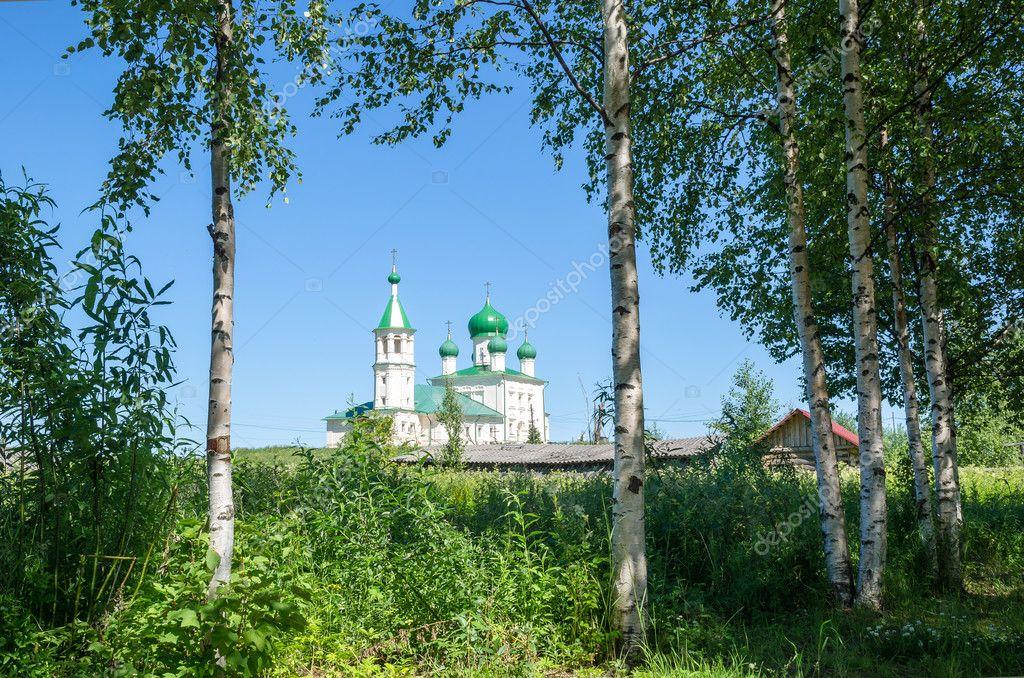 Картинка фото русские березы и купола