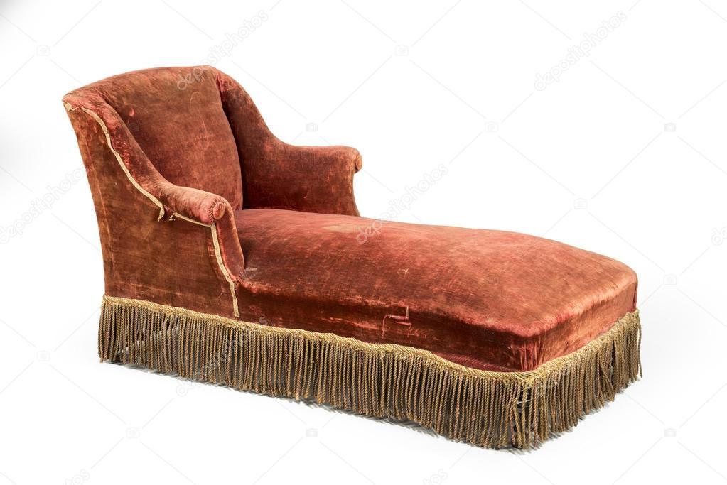 Banquette Lit Chaise Salon Vieux Vintage Antique Et Original