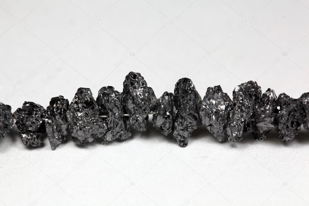 fdf1f8814bcc95 Surowe diamenty czarny Carbonados — Zdjęcie stockowe © ChWeiss ...