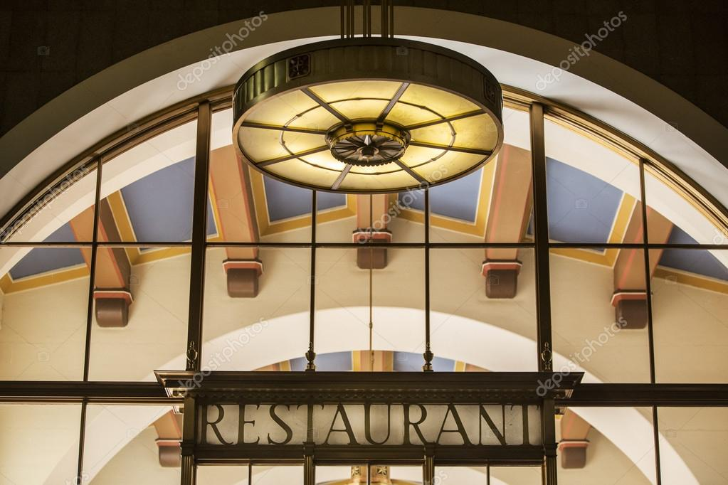 Art déco Restaurant Details — Stockfoto © Chuckee #68898353