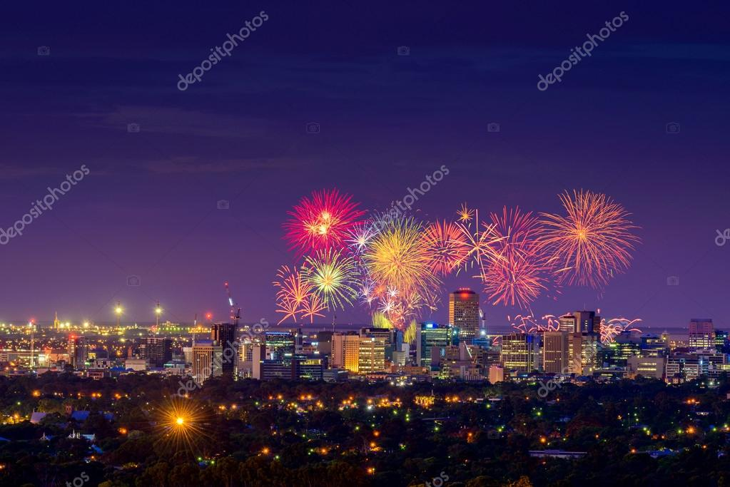 Adelaide New Year's Eve fireworks