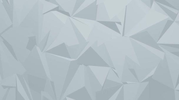 Video firemního mnohoúhelníkového pozadí
