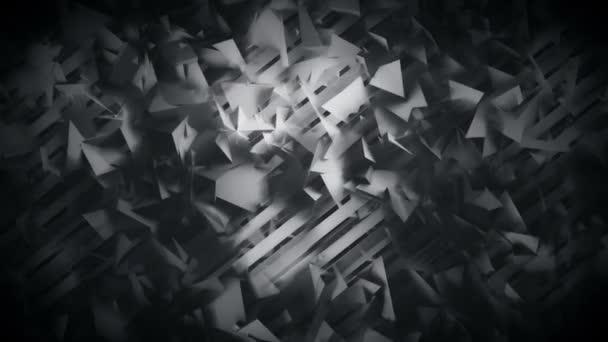 Mnohoúhelníky a čáry Tmavé geometrické abstraktní pozadí