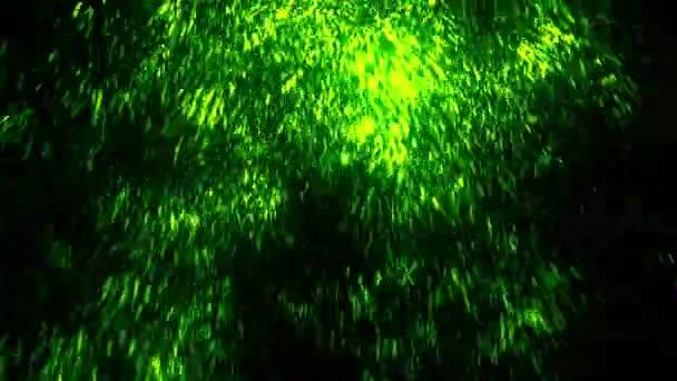 Abstraktní částice Scifi deště