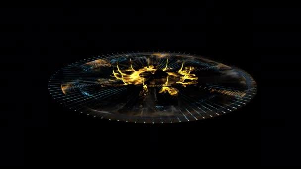 Glowing Stargate Event Horizon Portal